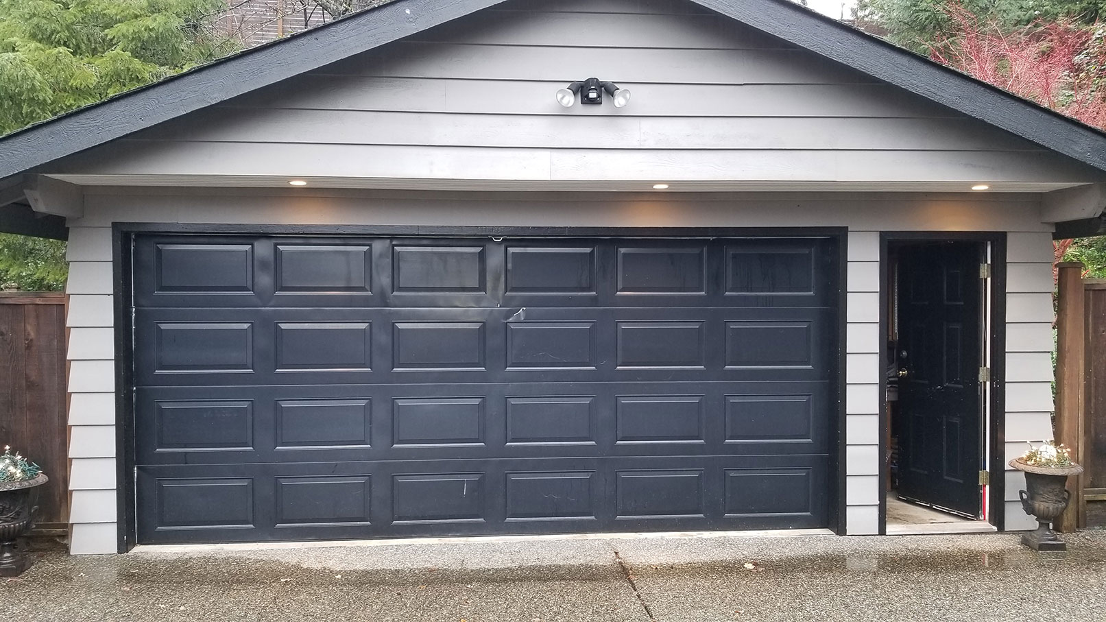 1. Residential Garage Door Replacement Before