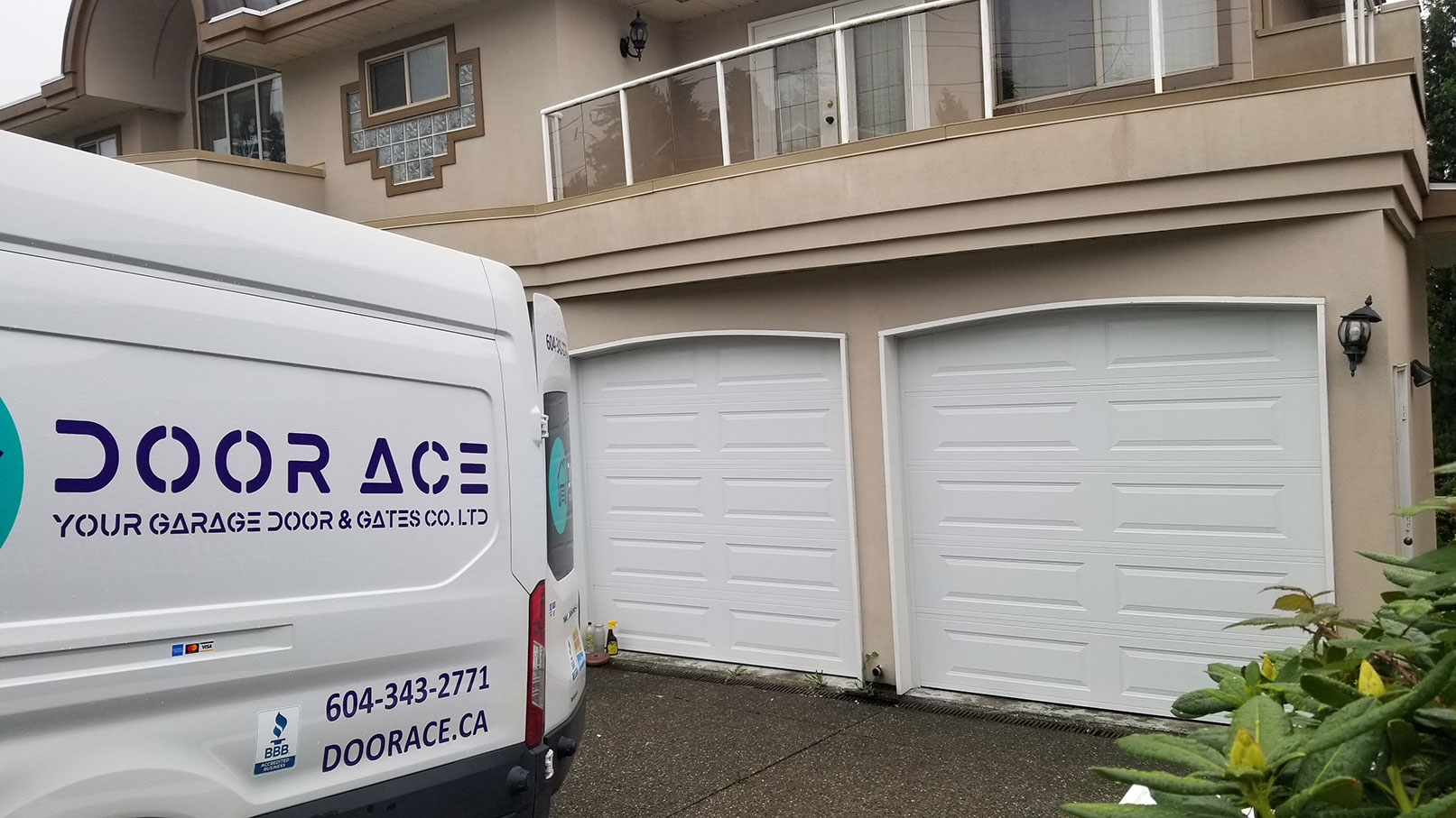 2. Garage Door Repair Home after