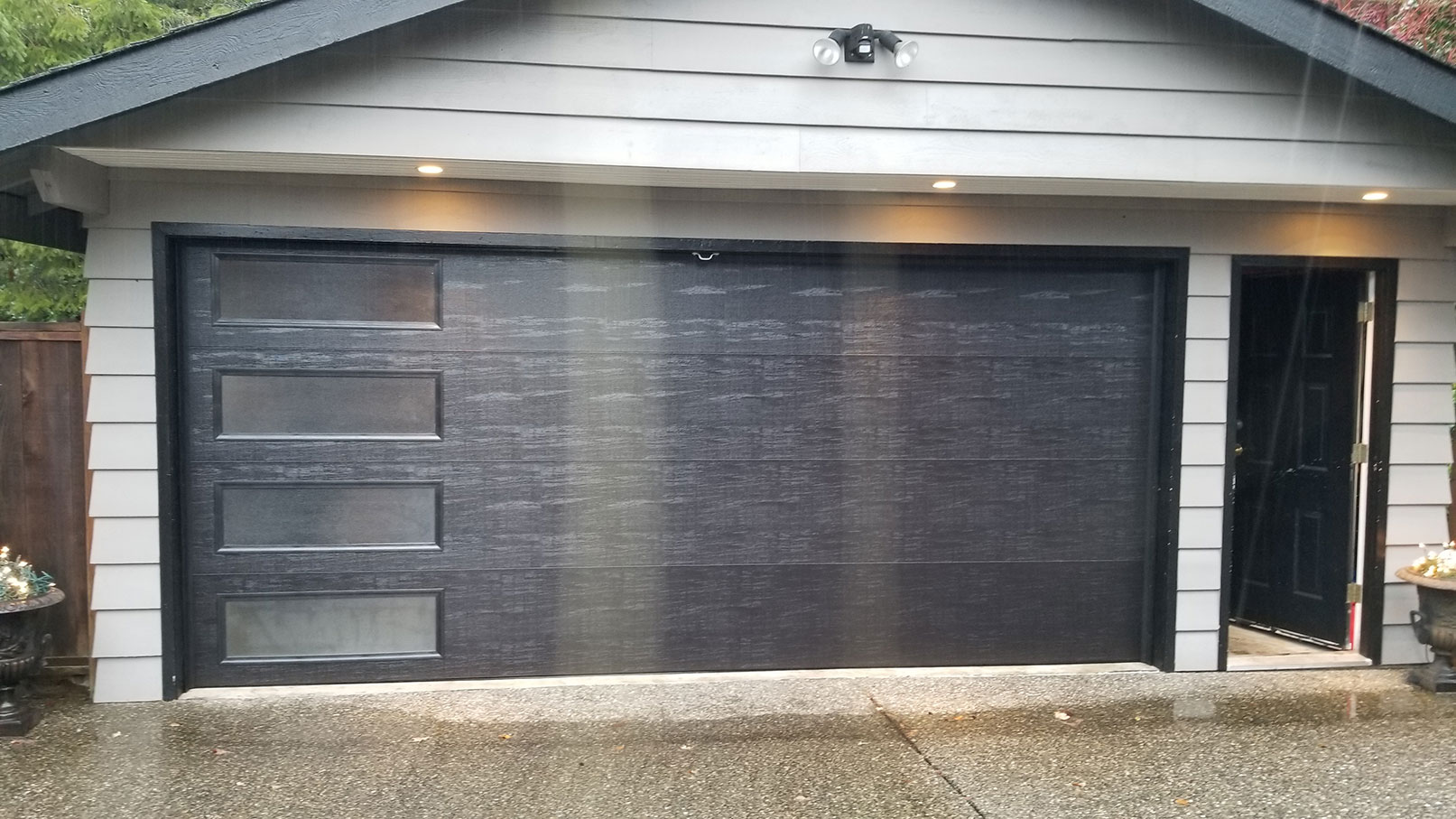 2. Residential Garage Door Replacement After