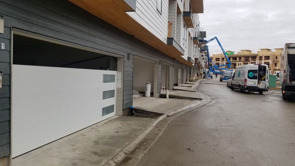 Commercial Garage doors install