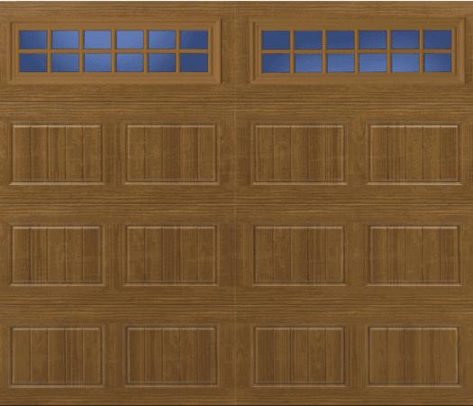 oak summit garage door designs